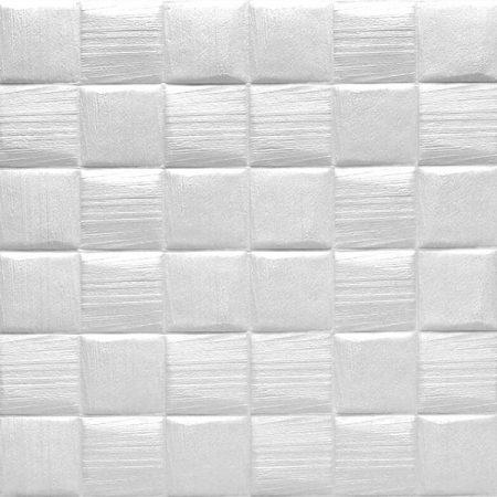 3d tapete model kvadrati bela