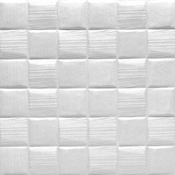 3d samolepljive tapete model kvadrati bela